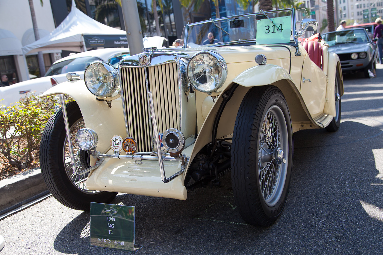 1949 MG TC, owned by Mel & Toni Appell