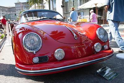 1957 Porsche 356A Speedster, owned by Jeff & David Brynan