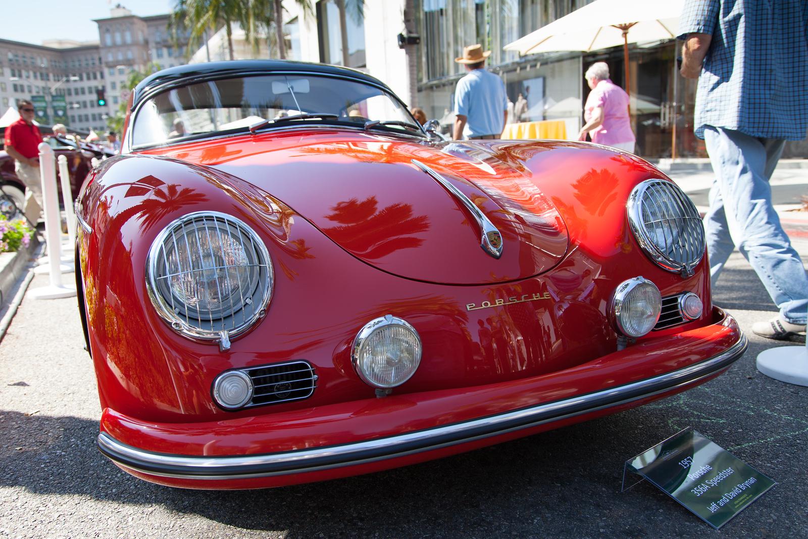 1957 Porsche 356A Speedster, owned by Jeff & David Brynan