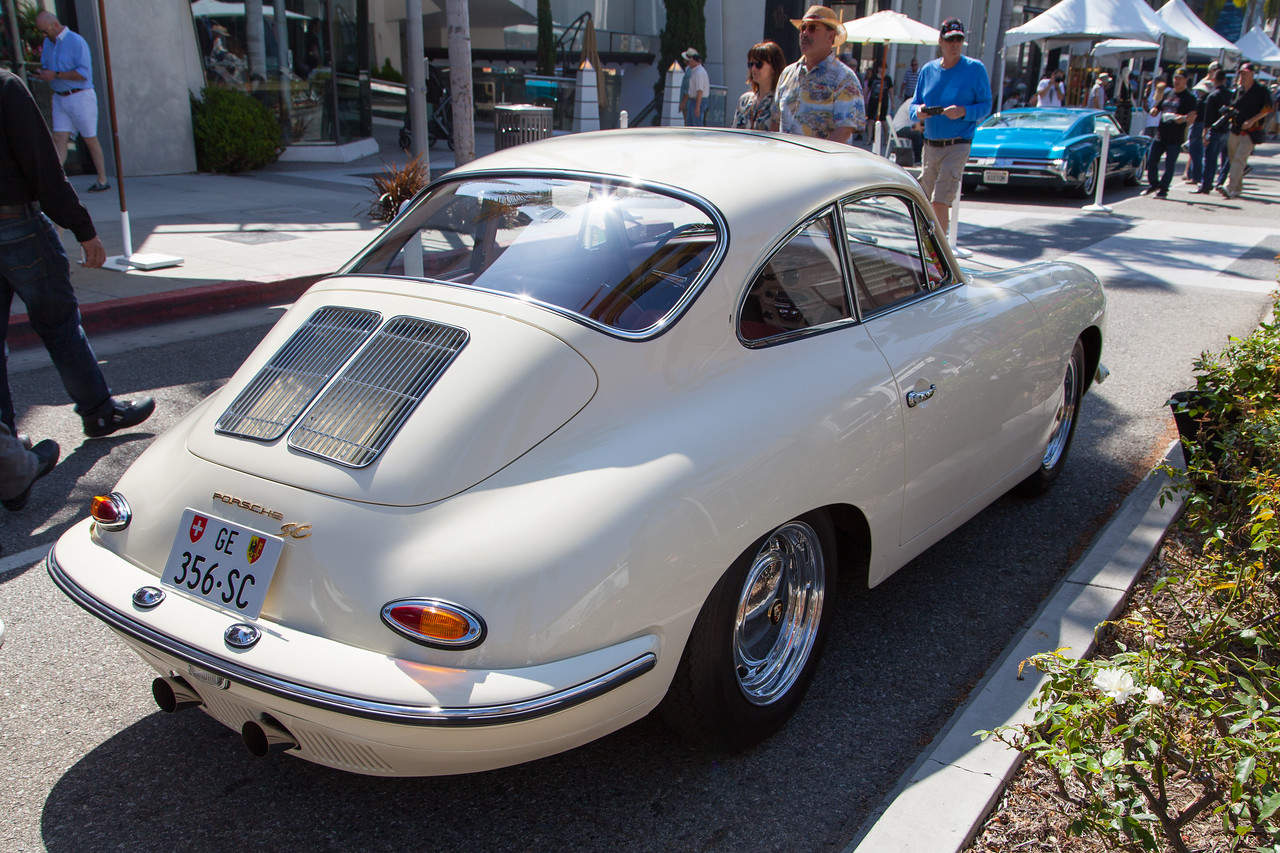 1965 Porsche 356 SC Coupe, owned by Peter Chifo, Jr.