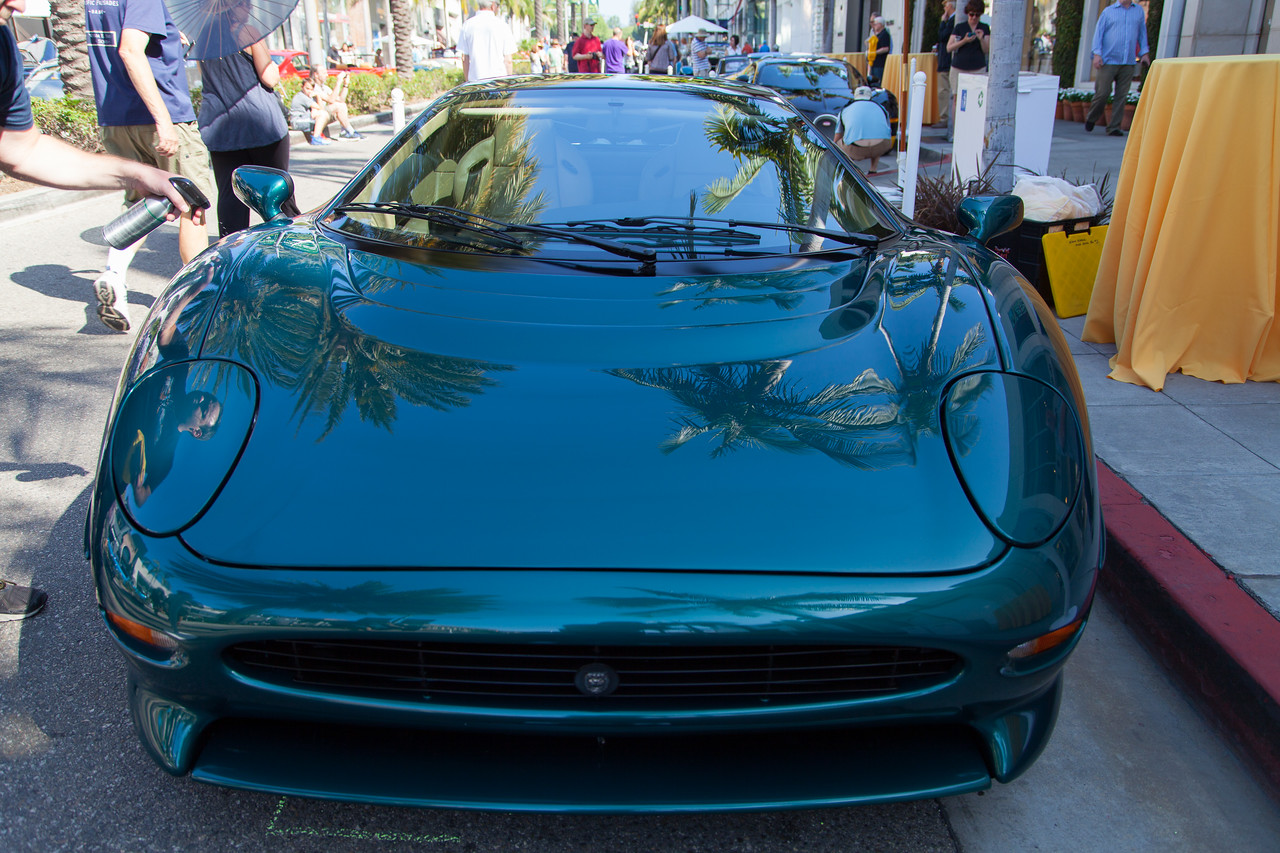 1993 Jaguar XJ220, owned by William O. Fleishman