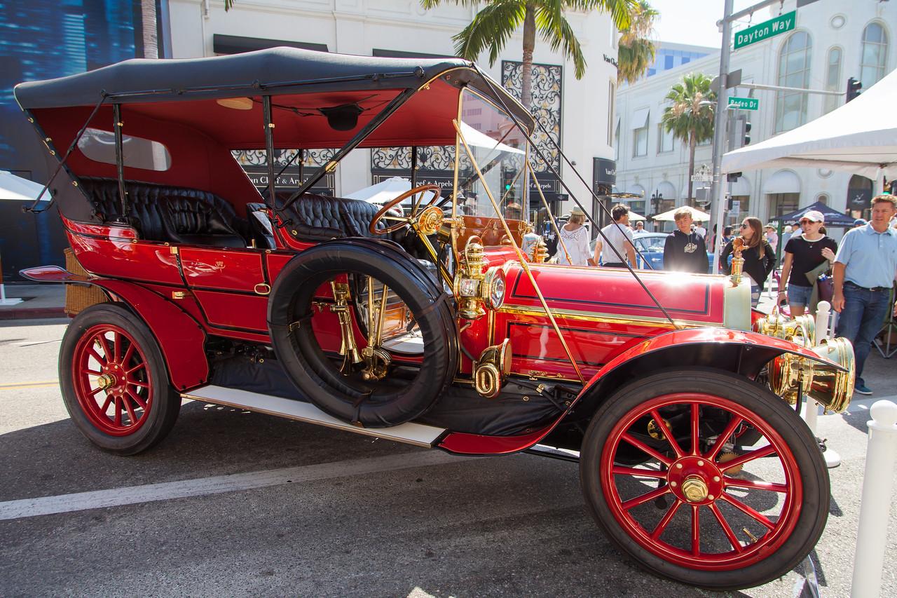 1909 Pierce-Arrow 48 SS & Passenger Touring, Lynette & Vaughn Vartanian