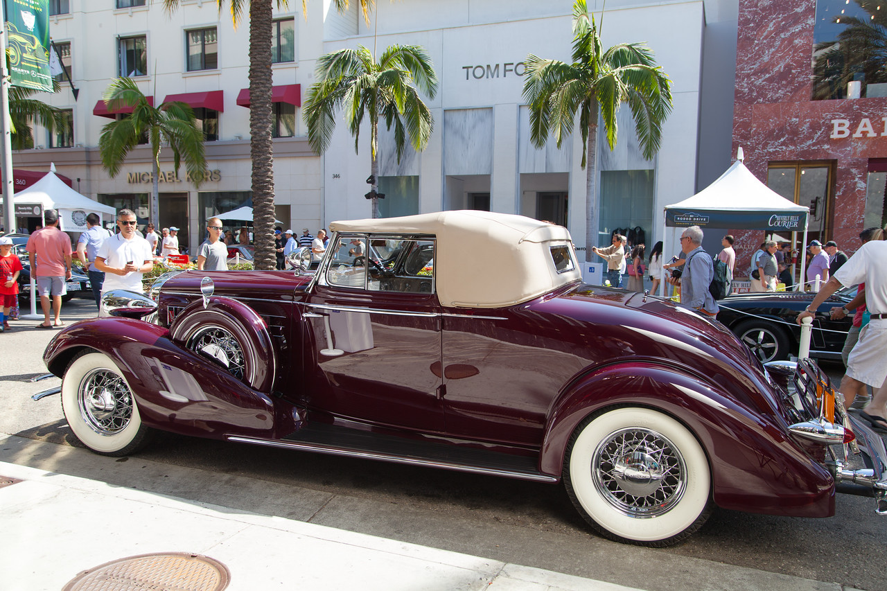 1934 Cadillac Series 355D V-8 Convertible, Larry & Diane Bloomer