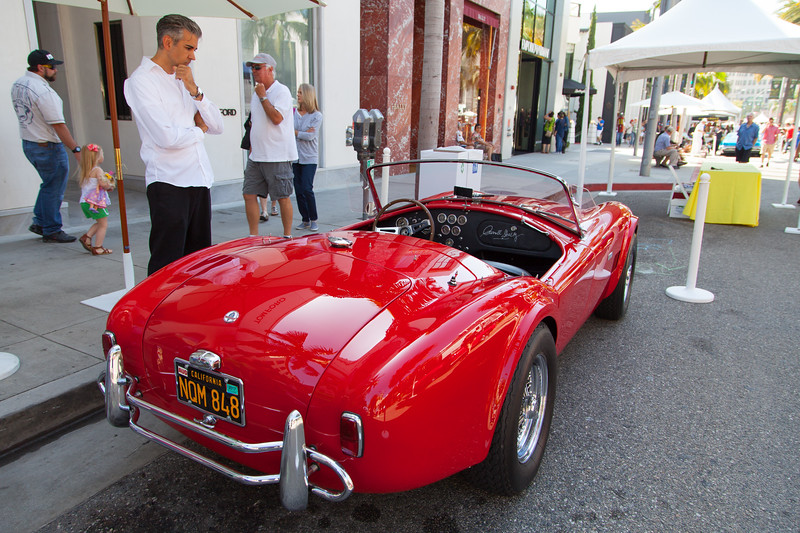 1965 Shelby 289 Cobra, owned by Bill & Marcy Hammerstein