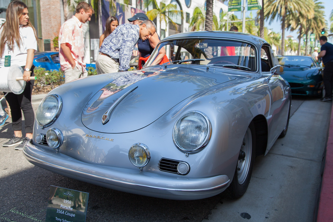1956 Porsche 356A Coupe, owned by Tony Schwartz