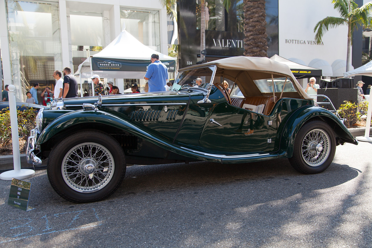 1954 MG TF, owned by Ron Udell