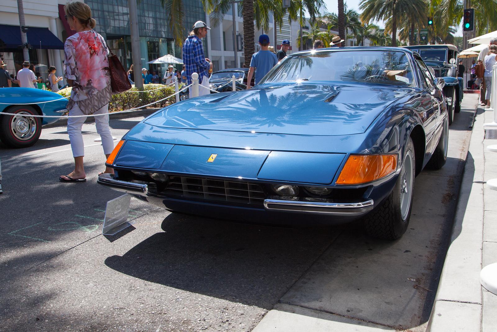 1972 Ferrari 365 GTB/4 Daytona, owned by Thomas Shannon