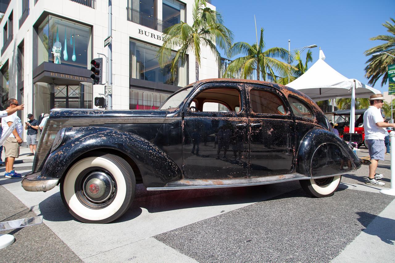"1936 Lincoln-Zephyr ""Twin-Grille"" Custom Sedan"