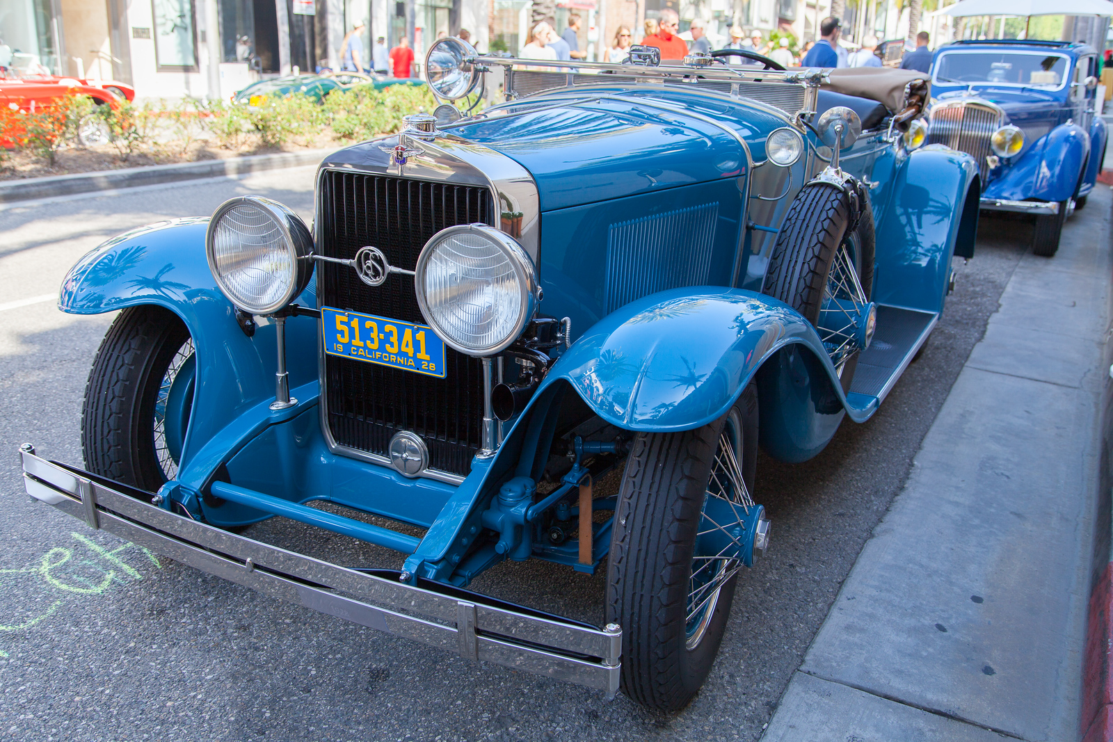1928 LaSalle 303 Roadster, owned by Richard Stanley