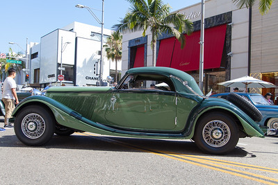 1936 Mercedes-Benz 290 Cabriolet A, owned by Aaron & Valerie Weiss