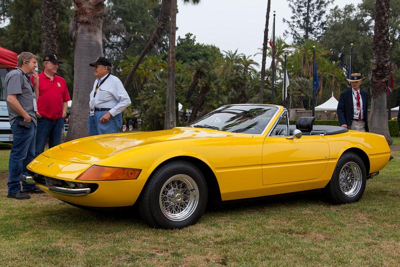 1973 Ferrari 365 GTS/4 Daytona Spyder - owned by Robert & Anne Marie De Pietro