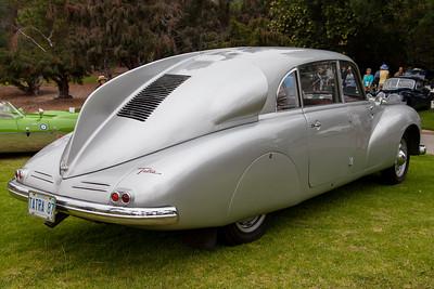 1947 Tatra T87 - owned by John Long & Helena Mitchell