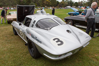 1963 Chevrolet Corvette - Mickey Thompson NASCAR owned by Tom McIntyre