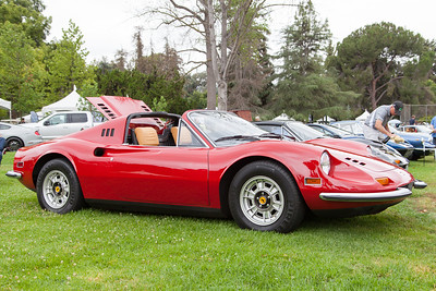 1972 Ferrari Dino owned by Michael Lowen