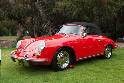 Bill Galloway's 1965 Porsche 356 Cabriolet C