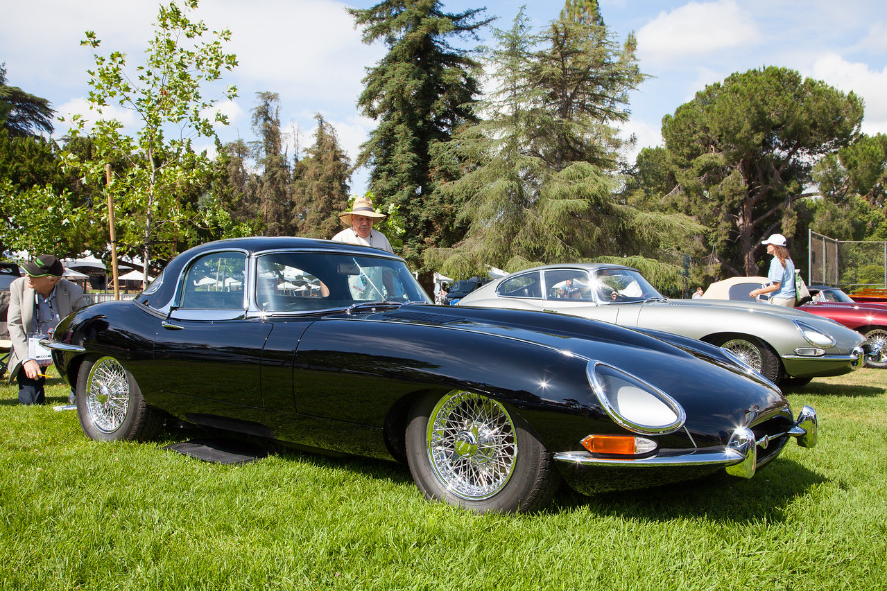 1966 Jaguar XKE Roadster, owned by Marshall Hovivian