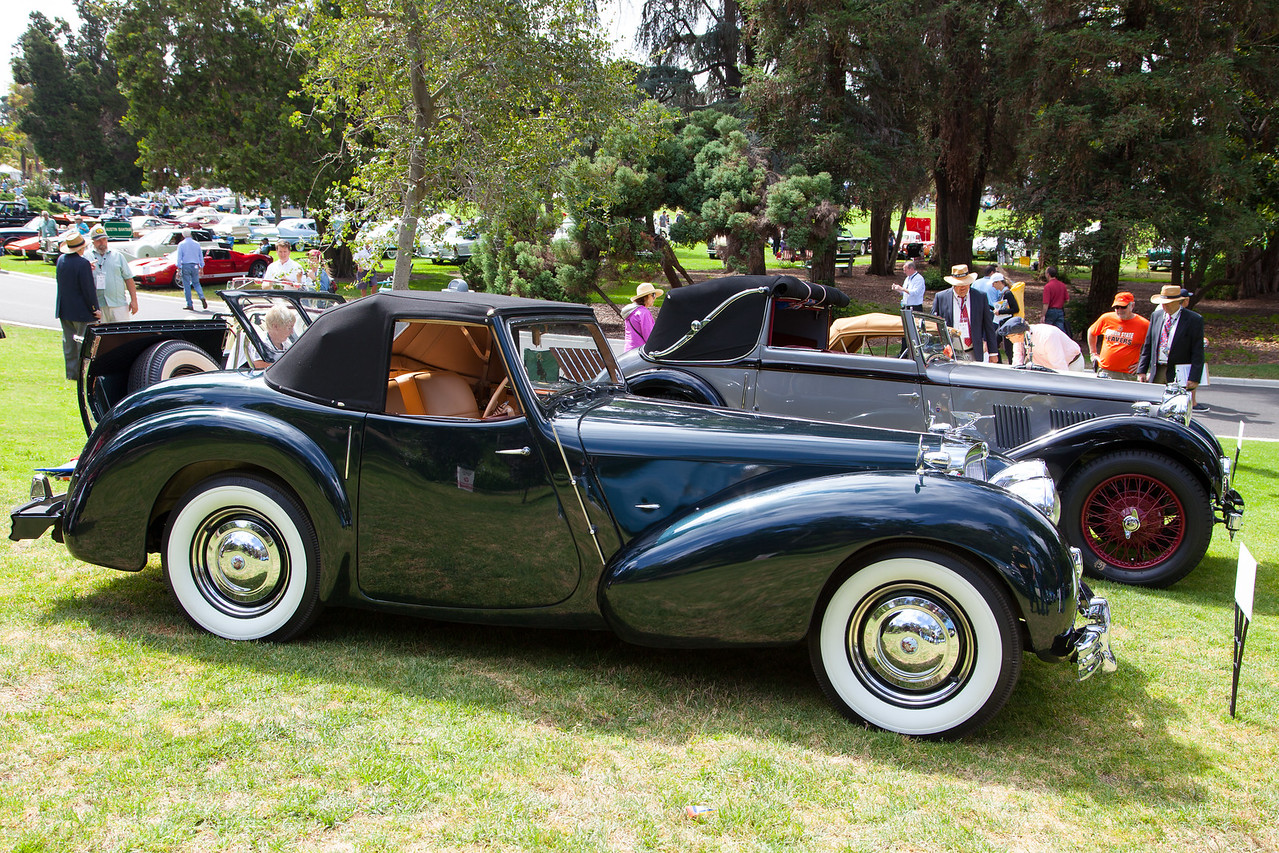 1947 Triumph 1800 Roadster, owned by Tom Leonard