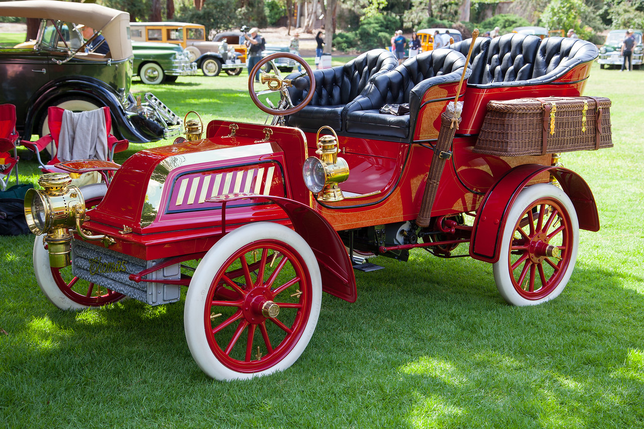 1903 Thomas Model 18, owned by Ron & Sandy Hansen