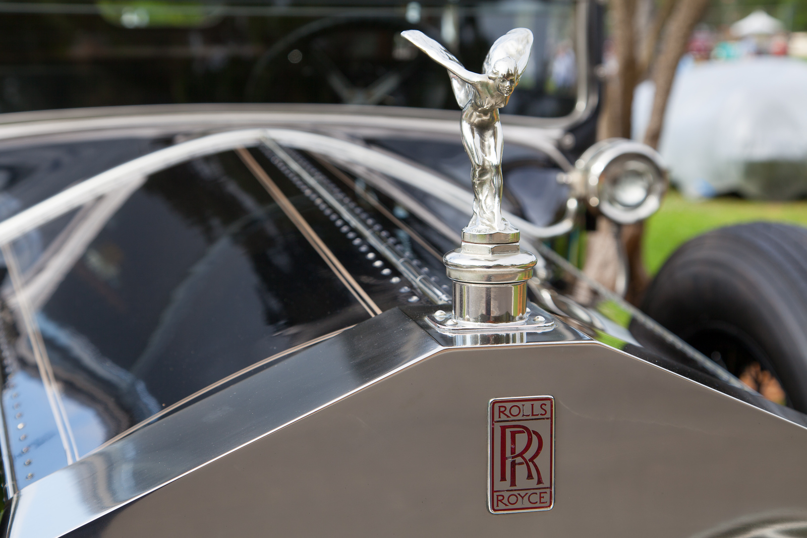 1925 Rolls-Royce Silver Ghost Merrimac Town Car, owned by Michael & Patricia Adams