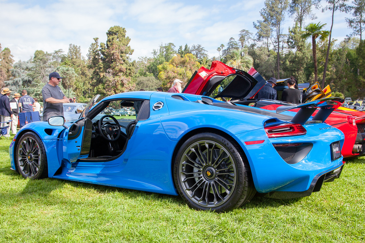 2016 Porsche 918 Spyder, owned by David Lee