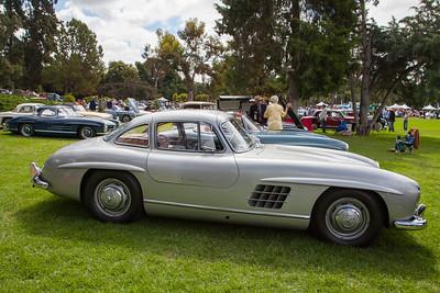 1955 Mercedes Benz 300SL Gullwing, owned by Ben Reiling