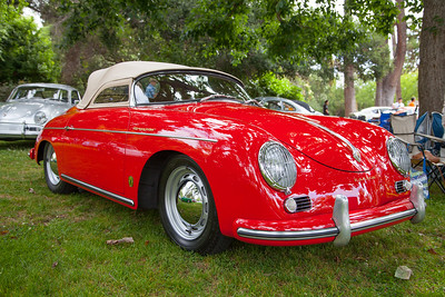 1956 Porsche 356A Speedster, owned by Rick Johnson & Ann Rankowitz