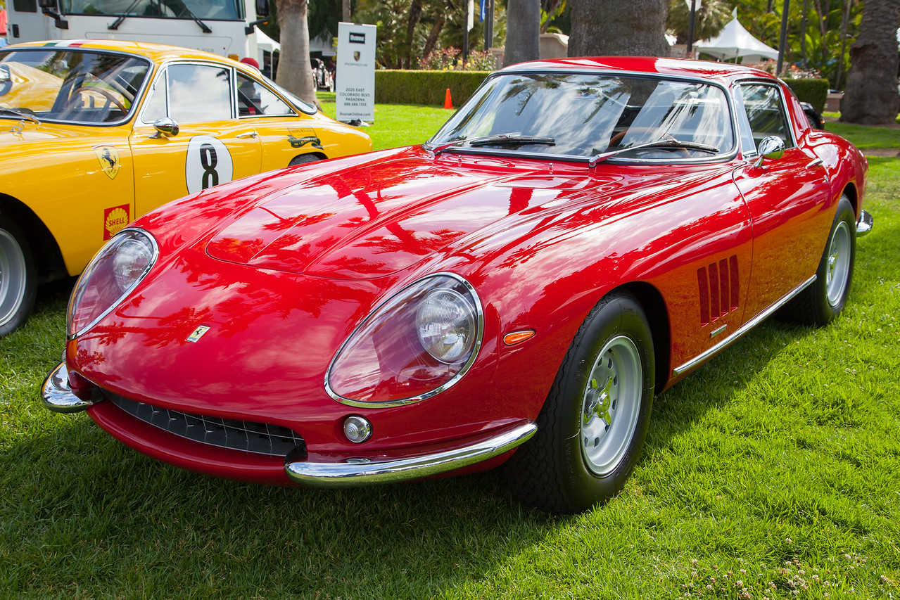 1967 Ferrari 275 GTB/4 2S, owned by David Lee