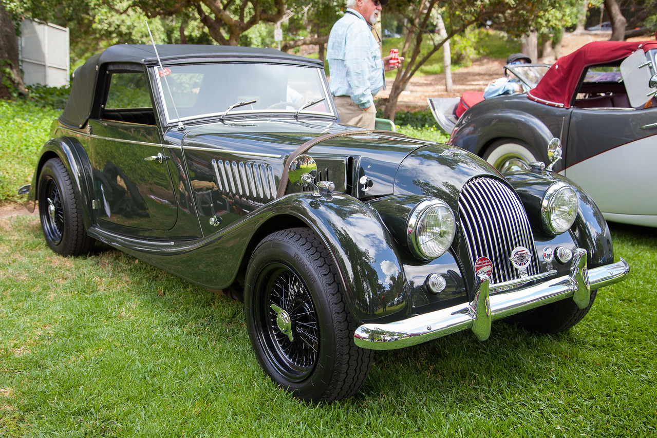 1963 Morgan Plus 4 Super Sport, owned by Dennis & Pamela Glavis