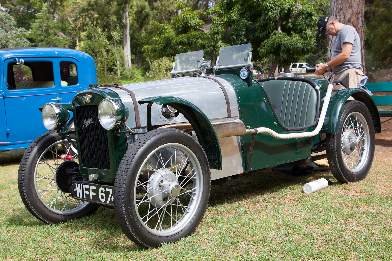 1934 Austin Seven Special, owned by Dennis Sonius