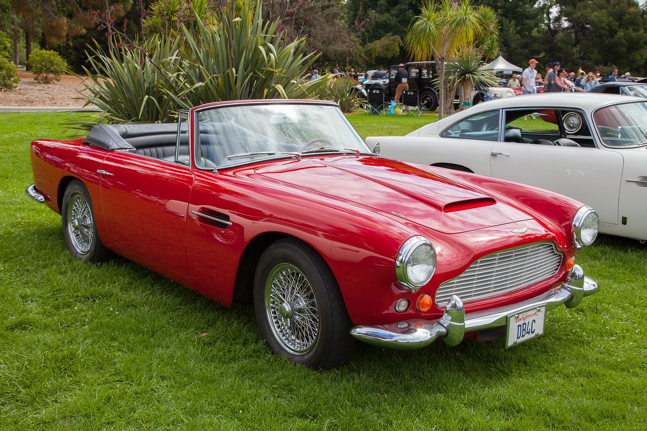 1963 Aston Martin DB4, owned by Daniel Rhodes