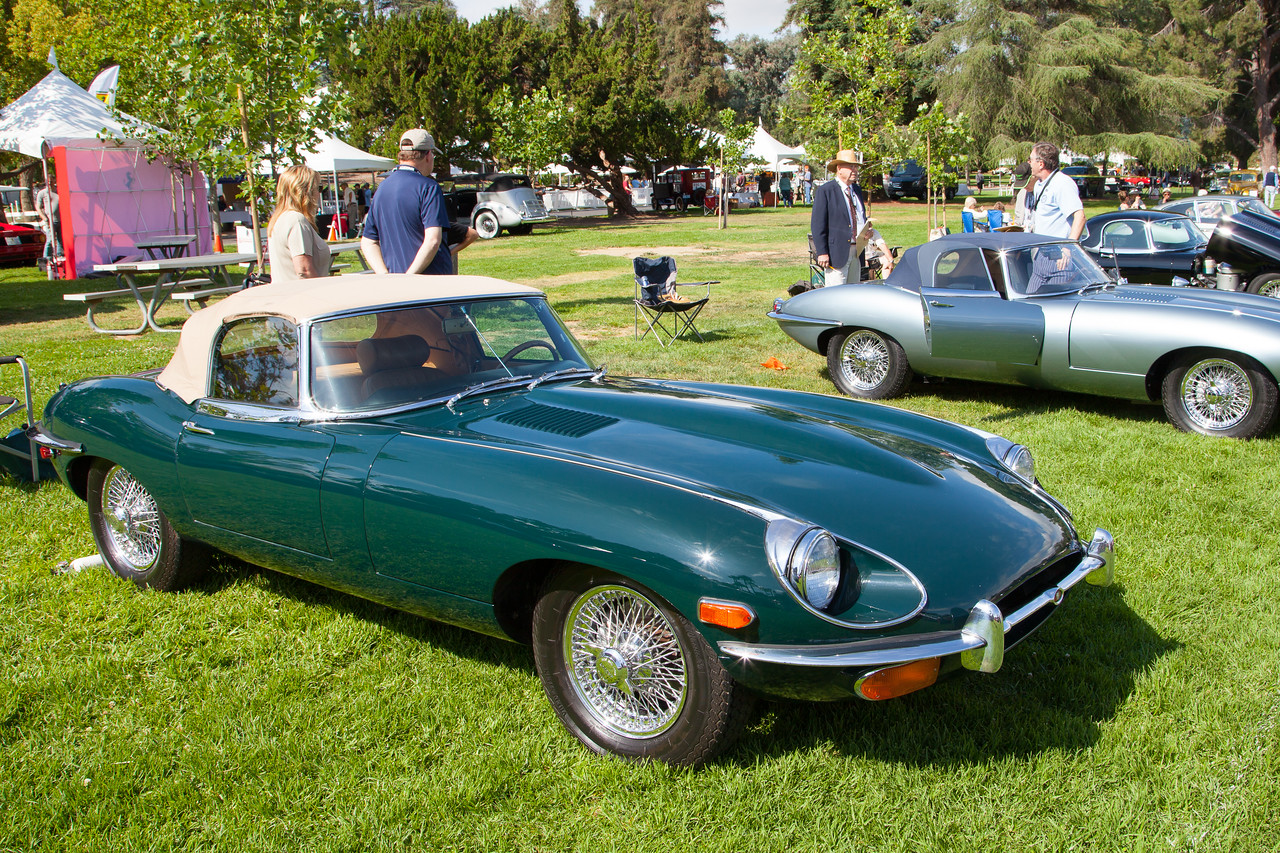 1969 Jaguar XKE Roadster, owned by Tom Evans