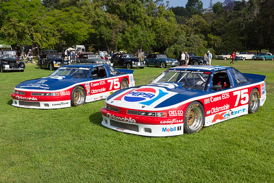 [L-R] 1990 Oldsmobile Cutlass Trans-Am, 1989 Oldsmobile Cutlass Trans-Am Series