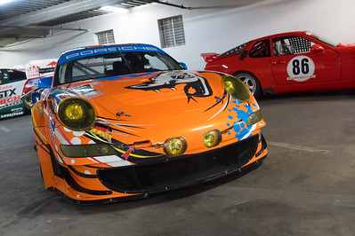 "2009 997 RSR ""Flying Lizard Motorsports"" Art Car"
