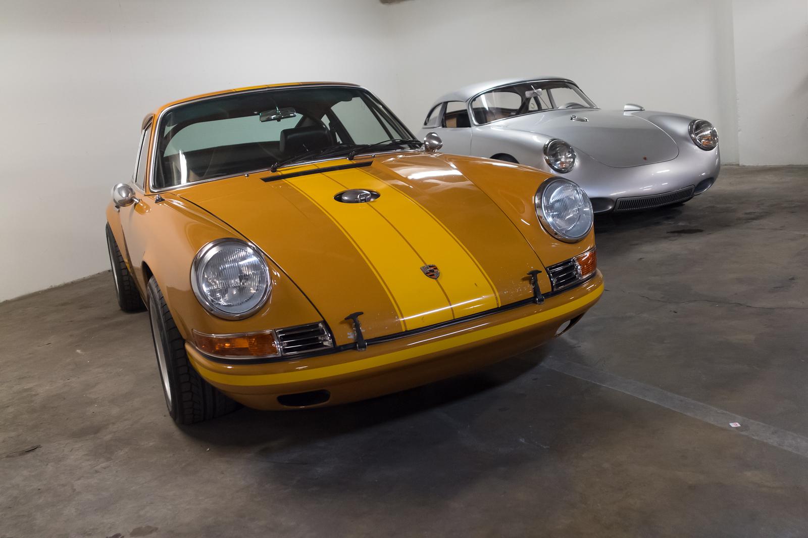"[L-R] 911 Singer, 1964 Porsche 356 ""Emory Special"""
