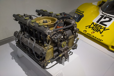 Type 912 flat-twelve engine, c. 1969
