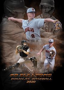 Baseball Collage 5X7