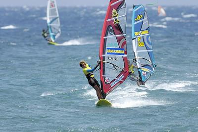 Windsurf  -  Gran Canaria Windsurf PWA Grand Slam Pozo Izquierdo  día 6  -  2007