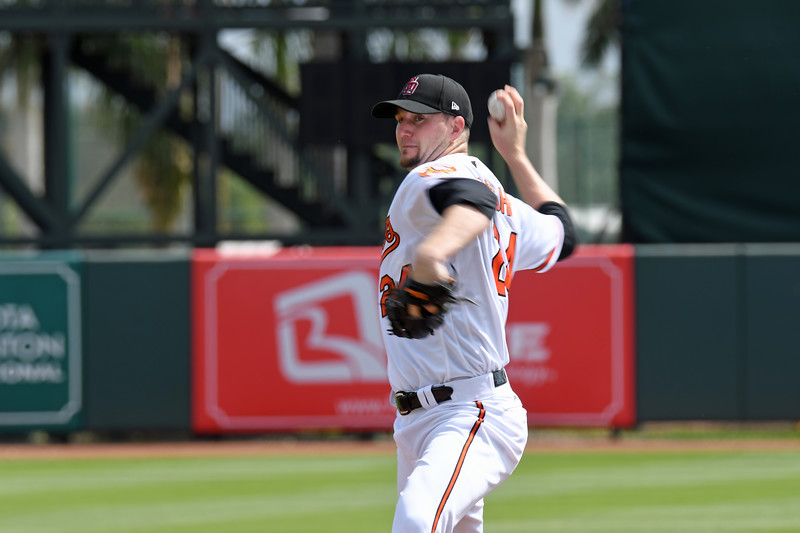Date:  2/23/18<br /> Location:  Sarasota, FL<br /> RHP Mike Wright