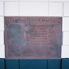 Date:  2/18/09<br /> Location:  Ft Lauderdale, FL<br /> This is the stadium plaque located in the ticket booth area...dates back to when the field was used by the New York Yankees for spring training, the Yankee emblem has been removed