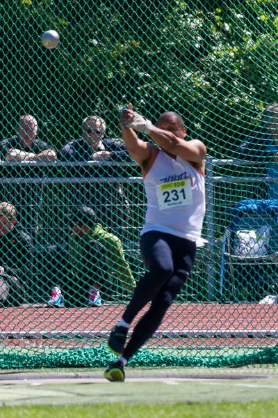 Athlete - Mens Hammer Throw (kogelslingeren). NK Teams Senioren 2013