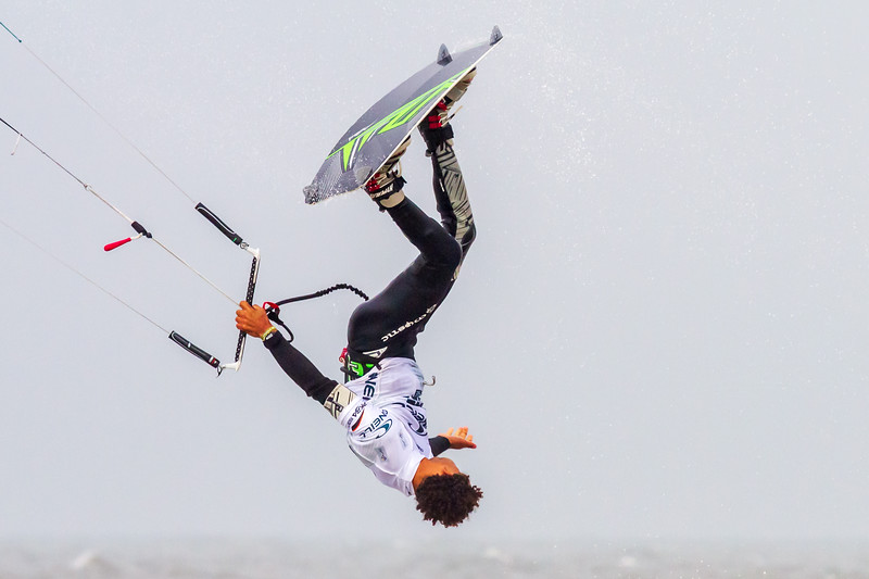 Free Style Kite Board Rider - O'Neill Kite Board World Cup
