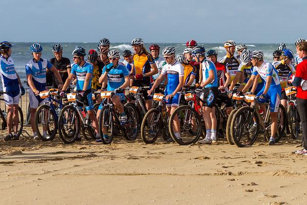 The CUBE Beach Criterium Mountain Bike Race