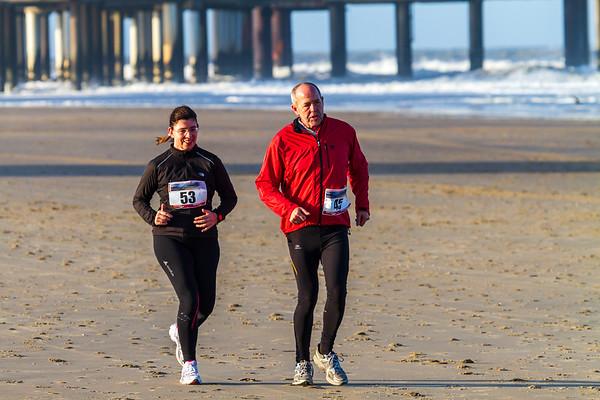 The Hague Beach Marathon.