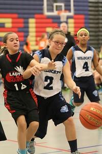 5th Grade Lady Blackhawks Basketball