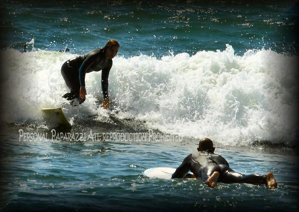 Ocean Beach Surfers 2012