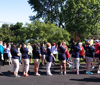 Jun 14th - Torch Run Arriving @ USA Games Family Center - Photos by Shannon Loeck