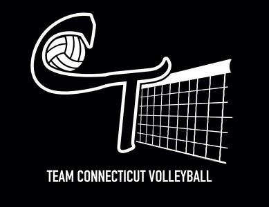 Team CT Volleyball Logo Design by Jarrod Viens
