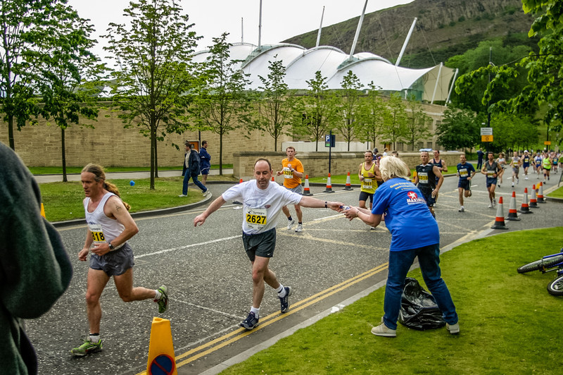 Edinburgh, Scotland<br /> The Edinburgh Marathon.