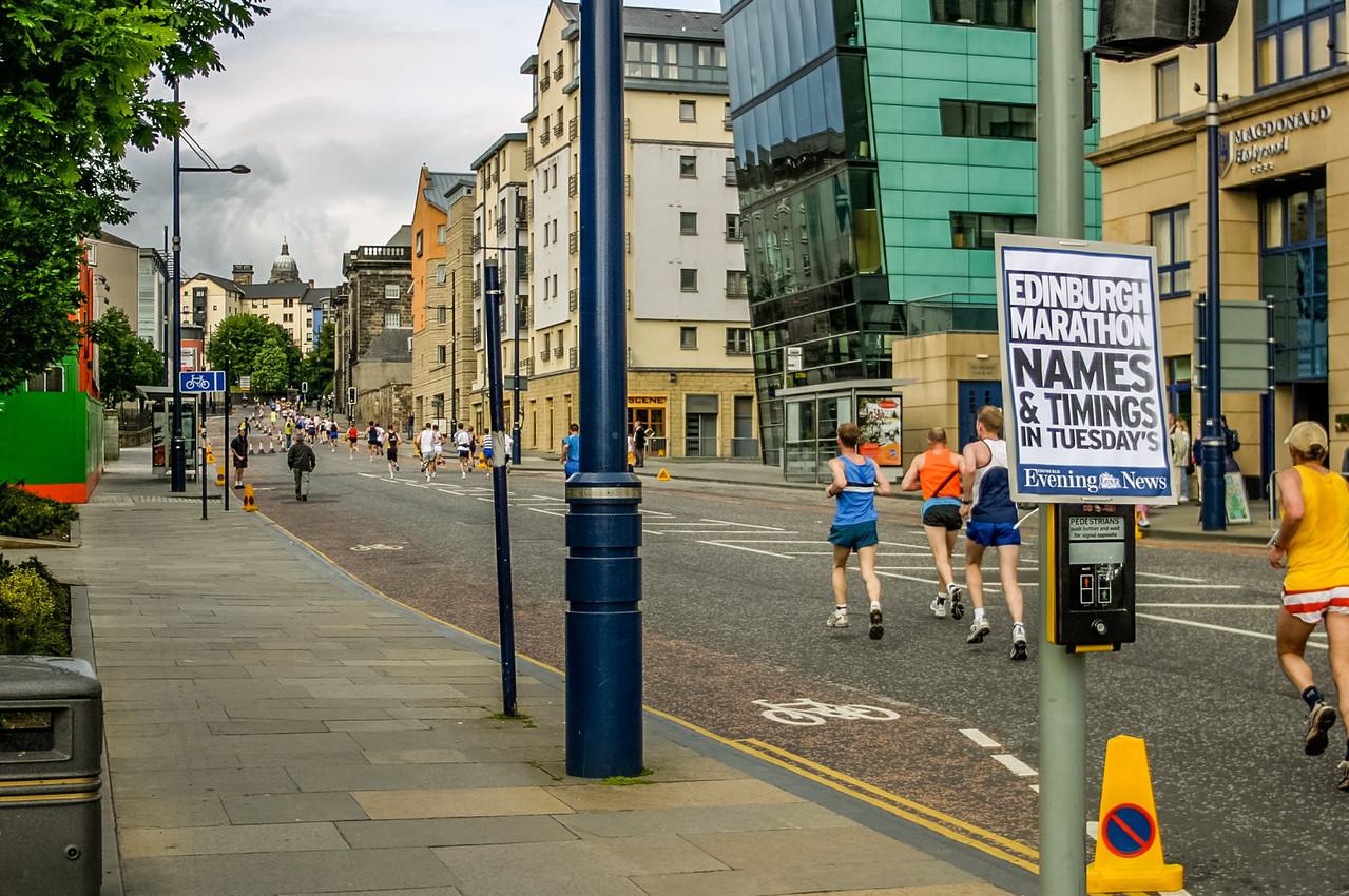 Edinburgh, Scotland<br /> The Edinburgh Marathon.