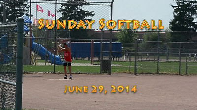 Softball June 29, 2014